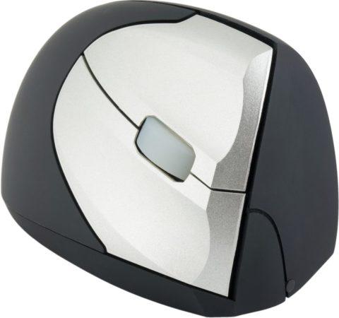 Afbeelding van Grijze R-Go Minicute EZ Evolution ergonomische muis draadloos