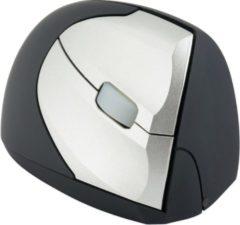 Grijze R-Go Minicute EZ Evolution ergonomische muis draadloos