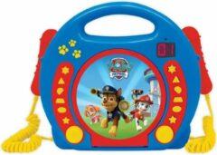 Blauwe Lexibook Disney Paw patrol - CD speler met microfoon – Paw Patrol speelgoed