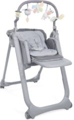 Grijze Chicco kinderstoel Polly Magic Relax Graphite