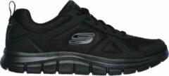 Skechers Track Solid heren sneakers - Zwart - Maat 42