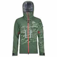 Ortovox - Women's 3L Guardian Shell Jacket - Ski-jas maat XL, olijfgroen/grijs