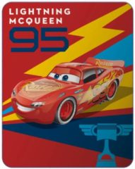 Rode Disney Cars Generation - Fleeceplaid - 110 x 140 cm - Rood
