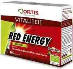 Ortis Red energy original flesjes
