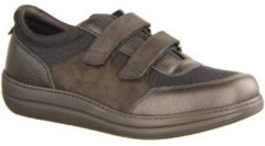 Liromed Sneaker 620- VERBANDSCHUHE, Schwarz, leder/textil