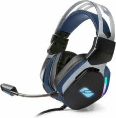 Muse Electronics Muse M-230GH - Game headset - bedrade on-ear gaming hoofdtelefoon - zwart/blauw