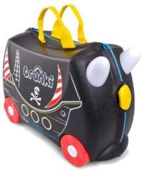 Zwarte Trunki Ride-on Piraat Pedro Kinderkoffer - 46 X 30 X 21 Cm - Zwart