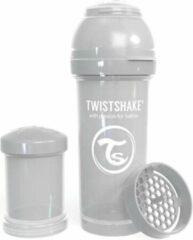 Twistshake Babyfles Antikoliek 260Ml - Pastel Grijs