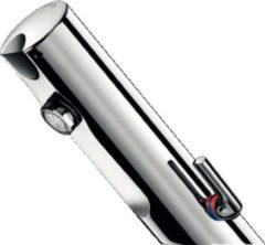 Delabie Tempomatic Elektronische kraan 3/8 inch temperatuurbegrenzing 6V waterbesparend Chroom glans 490106