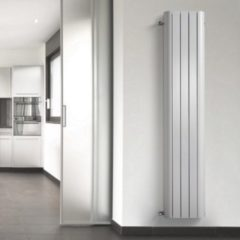 HD Heating Handdoekradiator Alu Smooth Wit 180cm Hoog (In 7 Verschillende Maten)