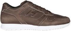 Marrone Hogan Scarpe sneakers uomo in pelle h321