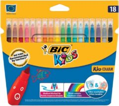 Bic Kids Bic viltstift Kid Couleur 18 stiften