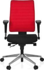 Hjh OFFICE Profi Bürostuhl PRO-TEC 350 mit Armlehnen (höhenverstellbar)