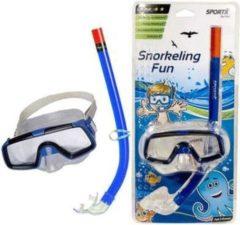 SportX Fun & Feest party gadgets - Snorkelset - Kinderen - Blauw