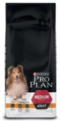 PURINA® PRO PLAN® HOND MEDIUM ADULT Kip met OPTIBALANCE™ droge brokken 14kg