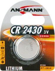 ANSMANN Lithium Knopfzelle 'CR2430', 3,0 Volt, 1er-Blister