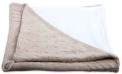 Baby'S Only Badcape - Omslagdoek Baby'S Only - Kabel Chenille Beige