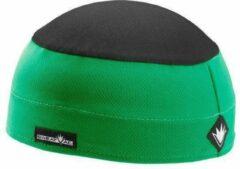 Sweatvac ventilator cap groen / zwart