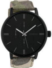 OOZOO Timepieces Horloge Camouflage/Zwart | C10312