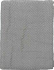 Snoozing Spiga - Bedsprei - Tweepersoons - 240x260 cm - Grijs