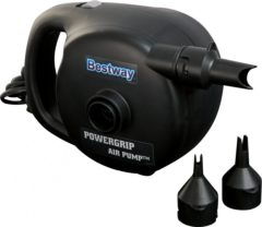 Zwarte Bestway Sidewinder Powergrip AC Elektrische Luchtpomp