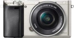 Sony Alpha ILCE-6000L System Kamera, 16-50mm Zoom, inkl. Tasche, 32 GB SD-Karte, 10? Fotogutschein
