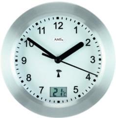 AMS 5923 Badkamerklok Radio-controlled Temperatuuraanduiding 17 cm