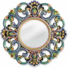 Tom's Company Kleurrijk, grappig en vrolijk, in alle kleuren van de regenboog: Zwart Collectie: Ronde spiegel