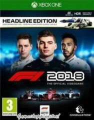 Codemasters Formula 1 (F1 2018) (Headline Edition) Xbox One