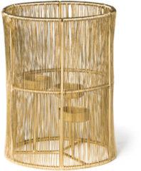 Goudkleurige Xenos Lantaarn draad - goud - ⌀15x20 cm