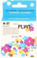 Pixeljet FLWR - Inktcartridge / 57 / kleur - Geschikt voor HP