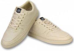 Sixth June Heren Schoenen - Heren Sneaker Seed Essential - Beige - Maten: 41