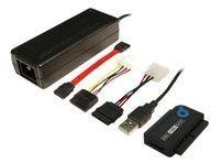 LogiLink Adapter USB 2.0 to 2,5 + 3,5 Zoll IDE + SATA HDD OTB - Speicher-Controller - ATA / SATA 1.5Gb/s AU0006C