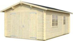 Palmako Roger 19,9 m² Garage mit Holztor