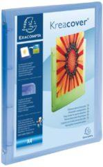 Exacompta Ringmap 4 ringen 30mm polypropyleen chromaline 10/10de Krea Cover - A4 maxi (51562E)