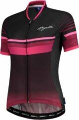 Rogelli Impress Fietsshirt - Maat S - Vrouwen - donkerrood/roze/zwart