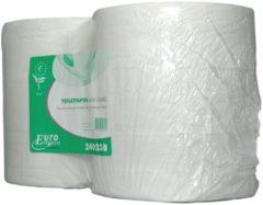 Euro Products Europroducts toiletpapier Maxi Jumbo, 2-laags, 380 meter, eco, pak van 6 rollen