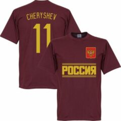 Bruine Retake Rusland Cheryshev Team T-Shirt - XL