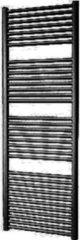 Douche Concurrent Designradiator Plieger Palermo 170,2x60cm 921 Watt Zwart Zijaansluiting
