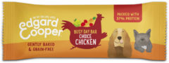 Edgard-Cooper Edgard&Cooper Chicken Busy Day Bar 25 g - Hondensnacks - Kip&Appel&Wortel