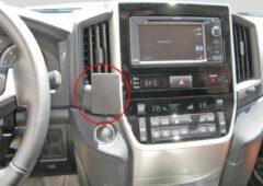 Zwarte Brodit Proclip Toyota LandCruiser 200 2016- angled mount