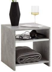 FD Furniture Nachtkastje Lund 40 cm hoog in grijs beton