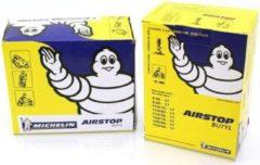 Zwarte Binnenband Michelin 300/350-10 haaks ventiel