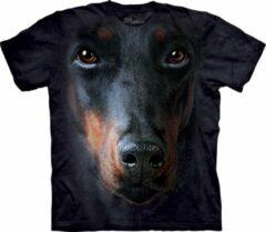 Zwarte The Mountain Honden T-shirt Doberman L