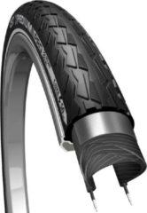 Zwarte CST Xpedium Pro Reflectie - Buitenband Fiets - 37-622 / 28 x 1 3/8 inch