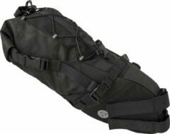 Zilveren AGU Seat-Pack Venture Zadeltas Zwart - 20 L - HIVIS - Bikepacking