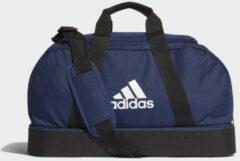 Blauwe Adidas Tiro Sporttas met Bodemcompartiment S team navy/black/white