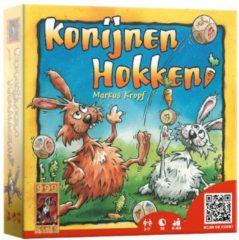 Gele 999 Games Konijnen Hokken dobbelspel