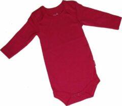 MiniBasics KinderBasics Baby Envelophals Rompertje - fuchsia - 86