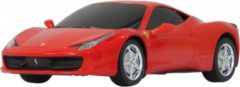 Rode Questcontrol BV Jamara Ferrari 458 Italia 1:24 rot